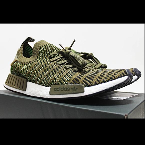 Details about adidas NMD_R1 STLT Primeknit Shoes Men's New Men's 10.5